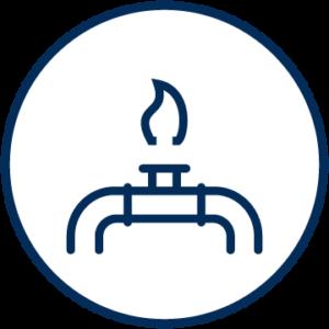 Icon Erdgas